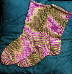 Calla Lily Socks, view 2