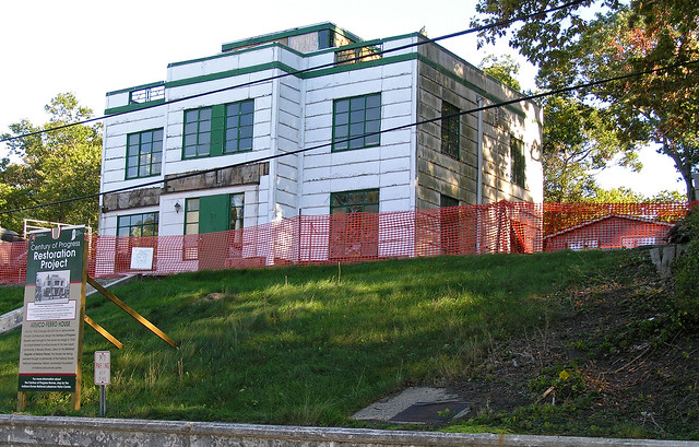 Armco ferro house beverly shores indiana flickr photo for Cost to build a house in indiana