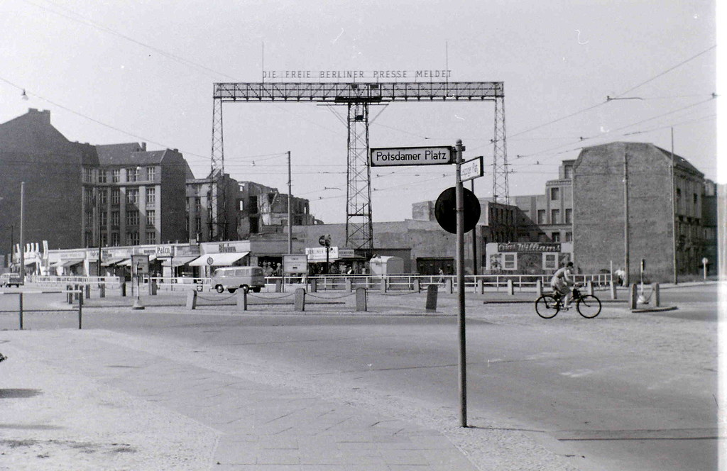 Potsdamer Platz, Berlin, 11 September 1959