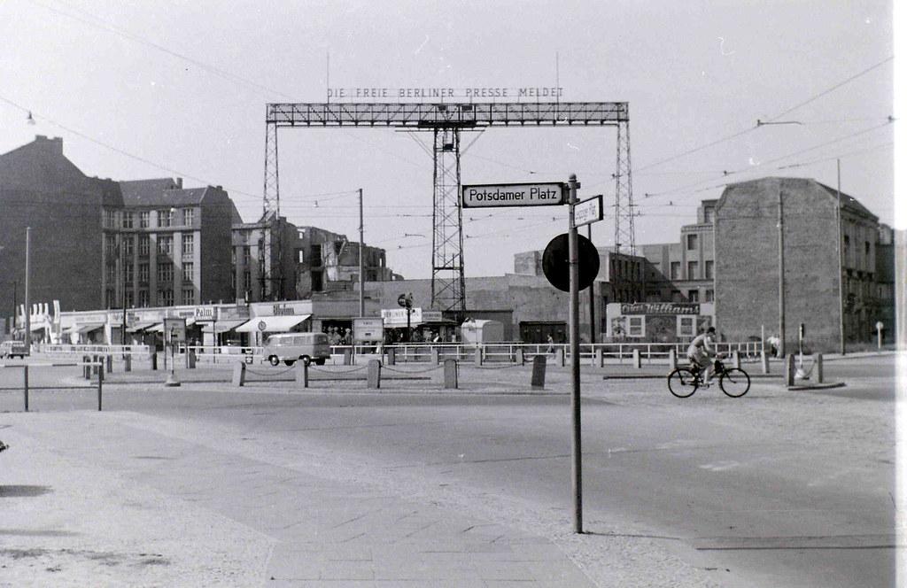 Potsdamer Platz, Berlin, 11 September 1959