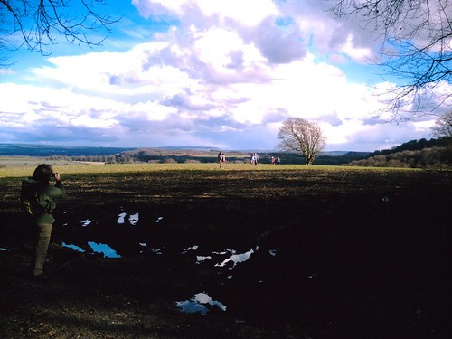 Clouds gathering for storms on the Alton Circular walk perhaps?