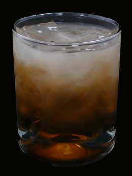white-russian Mixed Drink Cocktail