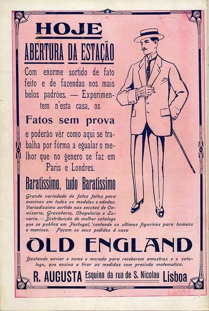 Ilustração Portugueza, No. 491, May 10 1915 - back cover