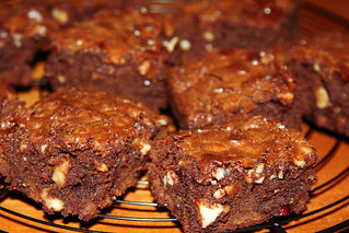 four nut brownie