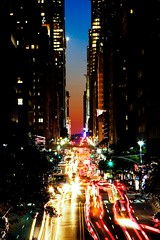 Manhattanhenge Mo Traffic