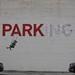 Banksy Downtown LA by Sonja Teri