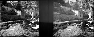 A la frontière, Menton, avril 1906