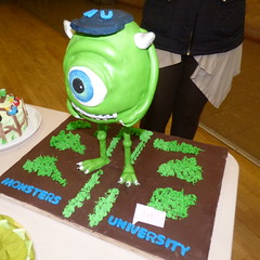 Monster University Cake by Maxine Murray