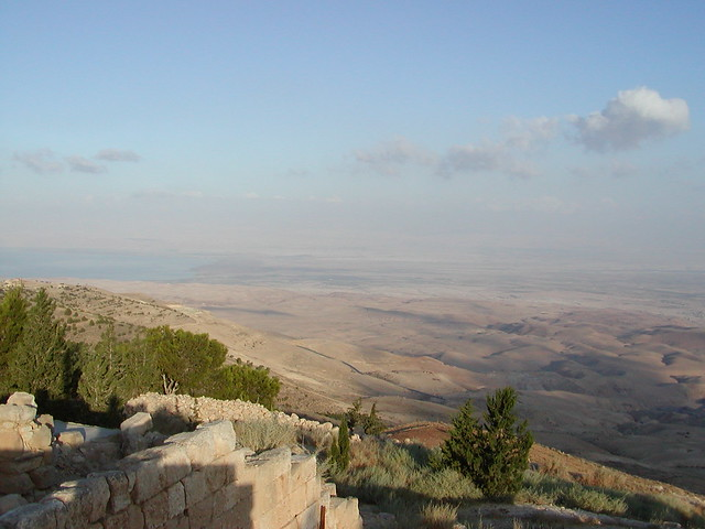 mount nebo christian singles Three popes have made pilgrimage to the baptism site of jesus christ, 'bethany  beyond  mosaic map that portrays the entire ancient holy land dating from 560  ad  according to the final chapter of deuteronomy, mount nebo is where the.
