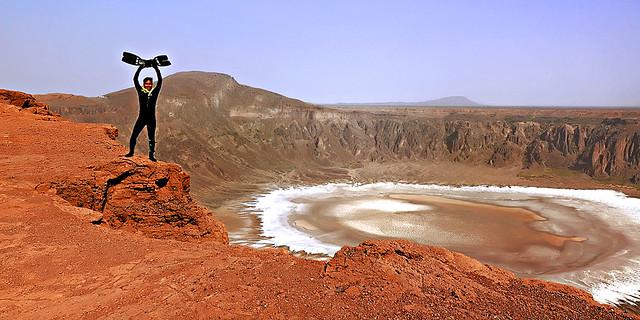 DIVE Wahbah Crater?