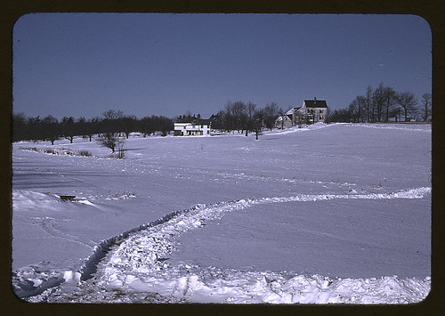 Massachusetts farm, possibly around Brockton, Mass. (LOC)