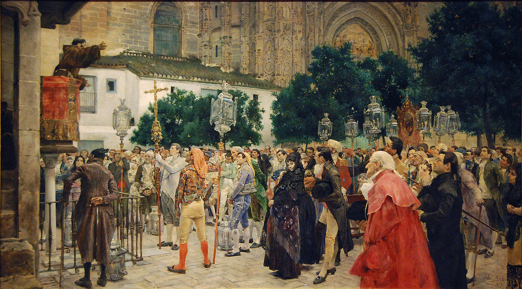 Holy Week in Seville, 1879