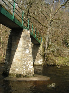 Footbridge over the Balder