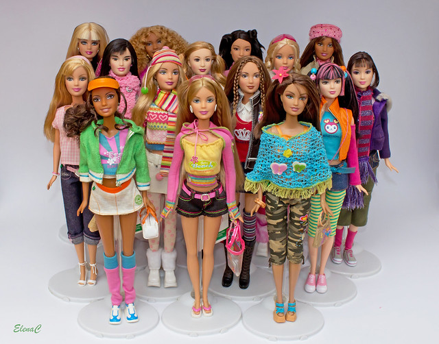 Barbie loves Benetton
