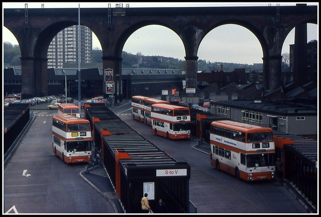 GMT Stockport Bus Station