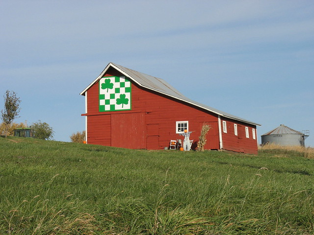 Irish Barn Quilt Patterns : Irish Barn Quilt Flickr - Photo Sharing!