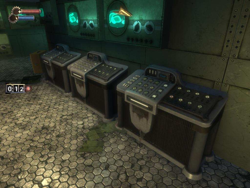 consoles in game