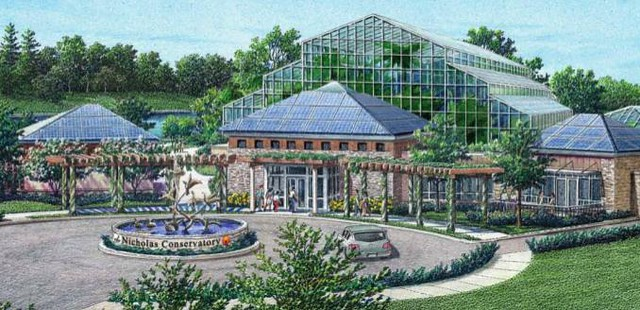 Artists Impression Of The Nicholas Conservatory Planned Fo Flickr Photo Sharing
