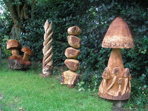 Chainsaw carvings and step by on pinterest