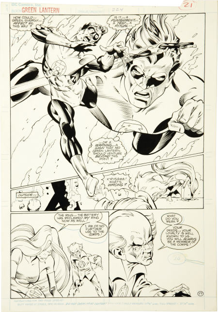 green lantern by gil kane