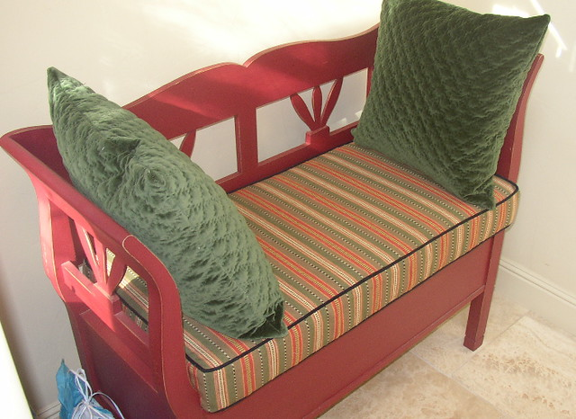 Entry way Bench Cushion | Flickr - Photo Sharing!