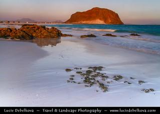 Yemen - Sunset on Bir Ali beach