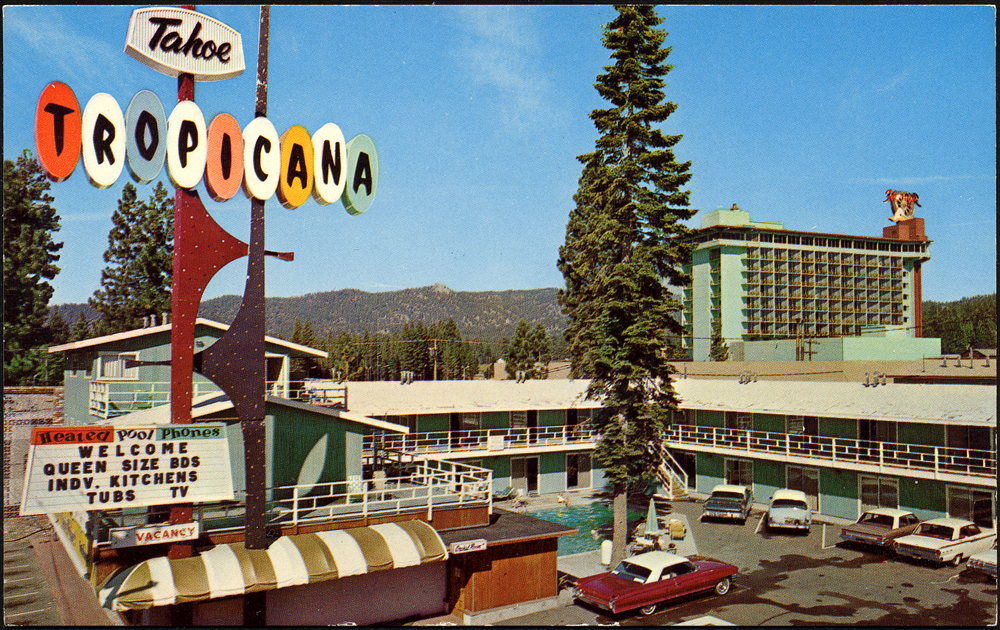 tahoe tropicana motel 1960 39 s a photo on flickriver. Black Bedroom Furniture Sets. Home Design Ideas