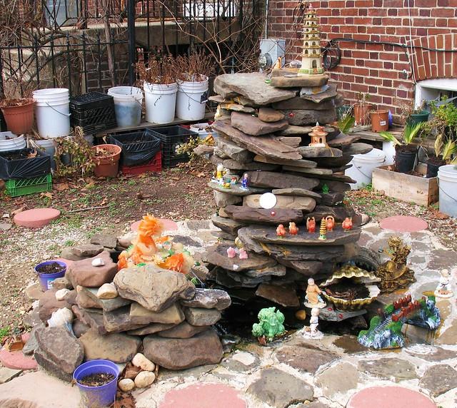 Rock Garden Fountains Better Homes And Gardens River Rock Patio Outdoor Decor Walmart Garden