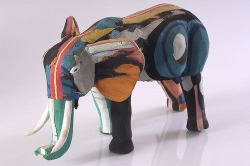 Large Champali Elephant by uniqueco.designs (flipflopiwas)