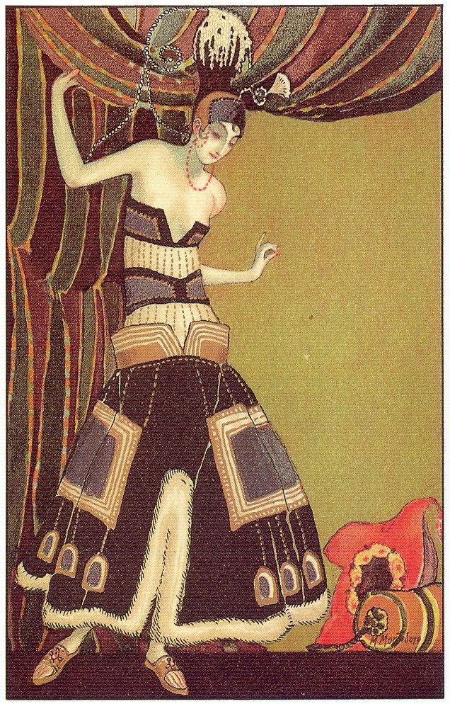 the flapper girl m montedoro art deco postcard 4 1920s. Black Bedroom Furniture Sets. Home Design Ideas