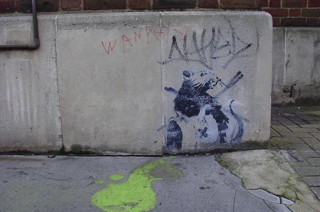 Banksy Toxic Rat