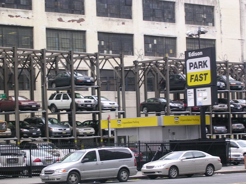 Stack parking to counter increased parking demand