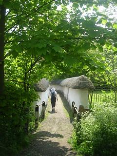Thatched walls, Blewbury