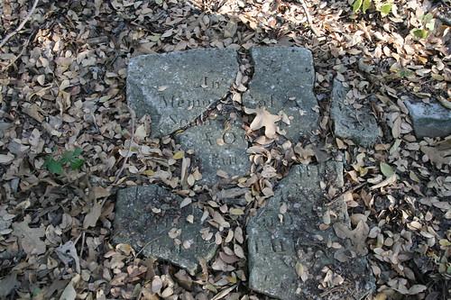 Broken slave stone