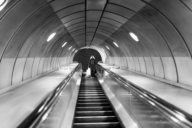 L'escalateur - Londres
