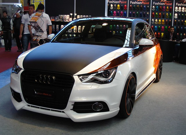 audi a1 fashion paint tuning foto 1 flickr photo. Black Bedroom Furniture Sets. Home Design Ideas