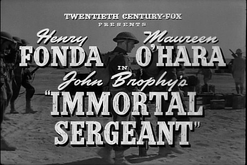 Immortal Sergeant (1943)