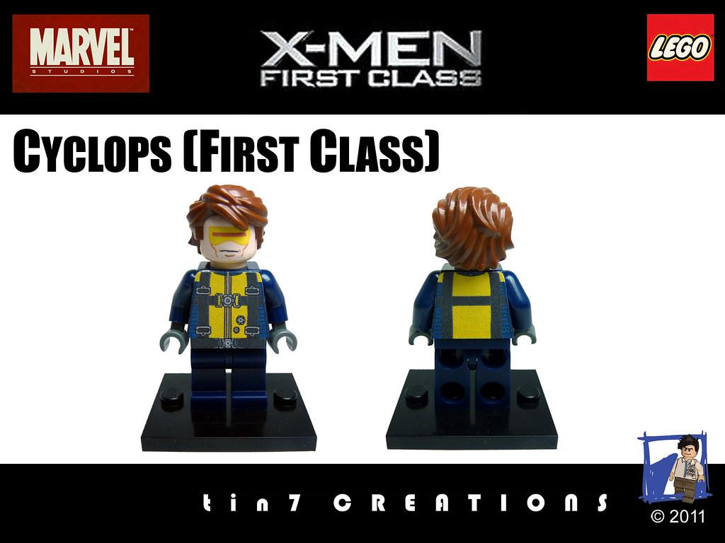 X Men Cyclops First Class 110 - Cyclops (First C...