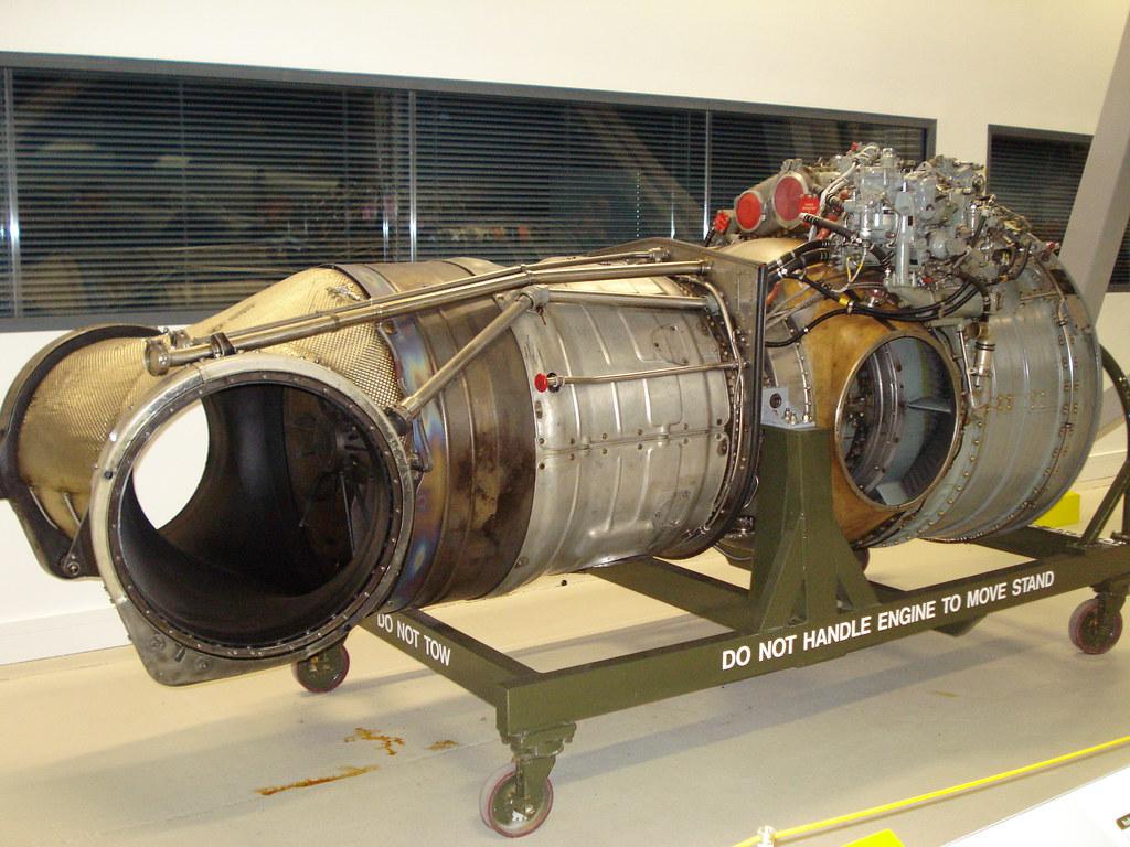 Harrier Jump jet engine, Duxford