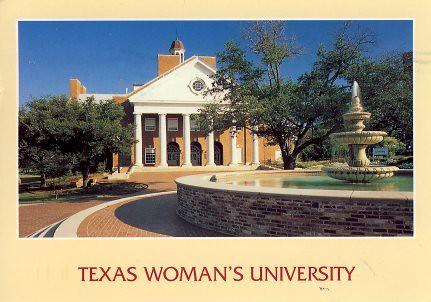 Texas Womancollege on Usa Texas Woman S University   Blagg Huey Library