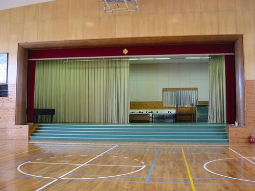 Gymnasium, Rokugo elementary school