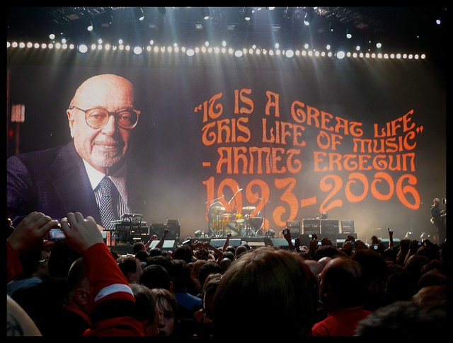 Header of Ahmet Ertegun