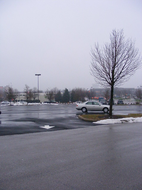 El parking de Tuttle Mall, Columbus, Ohio