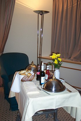 Room Service at the Budapest Hilton