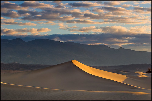 Glowing Dune at Sunrise