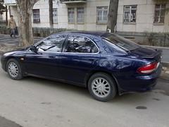 automobile, automotive exterior, family car, vehicle, mazda xedos 6, full-size car, mid-size car, compact car, sedan, land vehicle,