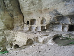 monastery(0.0), temple(0.0), badlands(0.0), cliff dwelling(1.0), formation(1.0), ruins(1.0), geology(1.0), archaeological site(1.0),