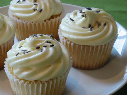 Lavender Cream-Filled Cupcakes 2