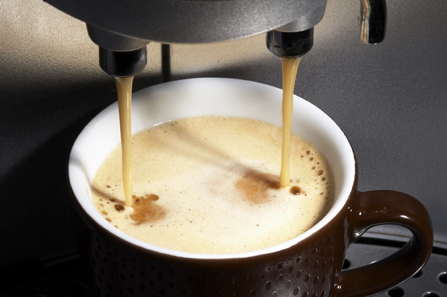 coffeemachine working