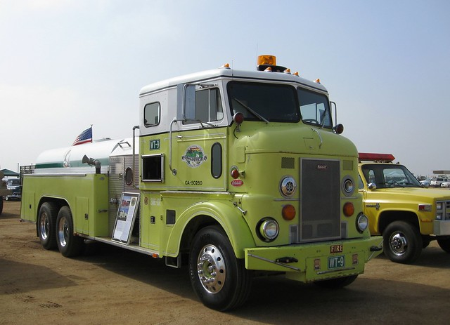 Peterbilt contract fire truck coe 1956 antique truck sho flickr photo sharing - Pictures of old peterbilt trucks ...